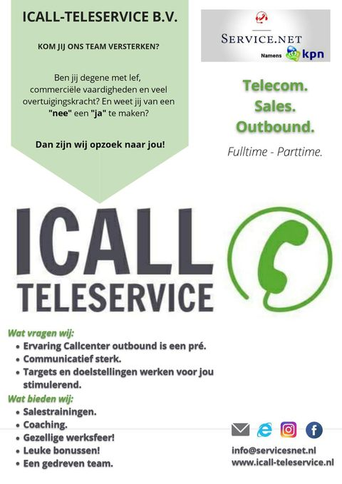 Icall teleservice